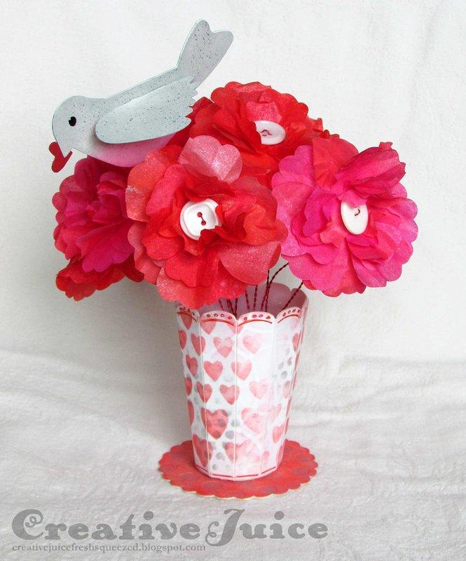 Valentine Flower Vase