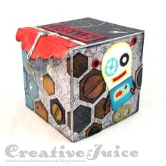 Space Box with mini Spool Album