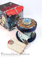Space Box with mini Spool Album