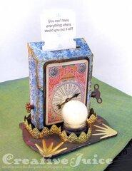 Post Box Die Fortune Telling Machine