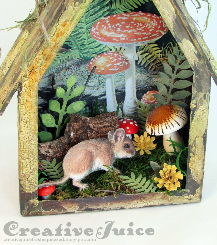 Woodland Mouse Vignette