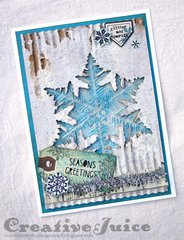 Layered Snowflake card