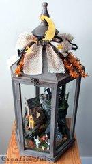 Tim Holtz Halloween Village Lantern