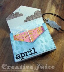 April Showers Bring May Flowers Tiny Book