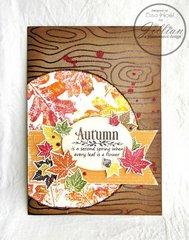 Autumn Themed card