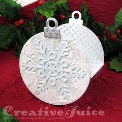 Christmas Ornament Treat Box