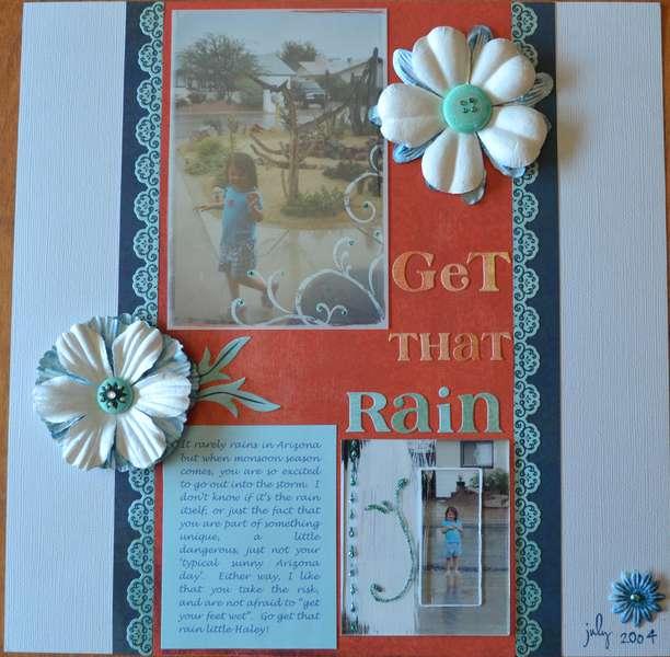 Get That Rain - Published on CK Blog!