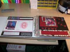 D-Ring Binder open