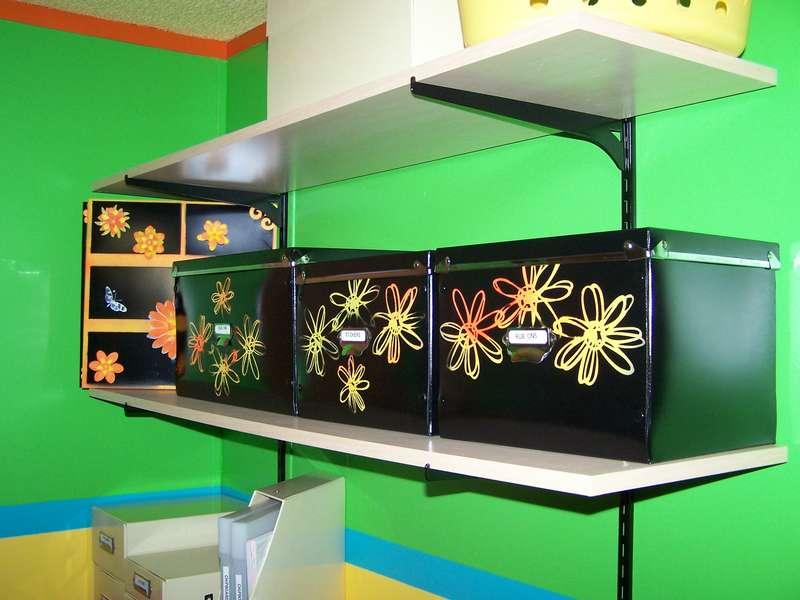 Embellishment shelf 1 finished!