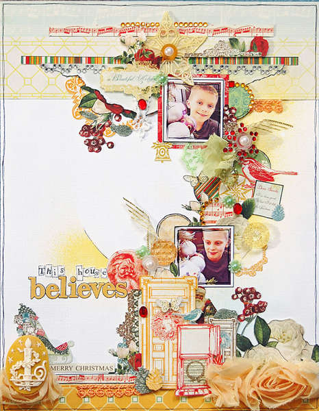 This House Believes *Webster's Pages- Botanical Christmas*