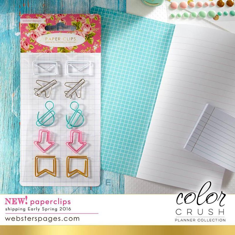 Beautiful new additions to the Websters Pages Planner Collection