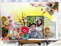 Wedding Canvas 14 x 18 inches