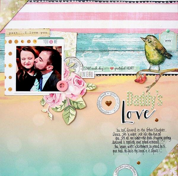 Daddy's Love by Stacey Michaud featuring Painted Passport from Websters Pages
