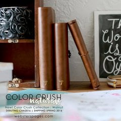 New Color Crush Naturals in A5, Personal and Traveler Sizes from Websters Pages