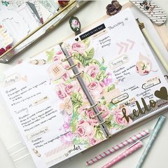 Love Story Collection from Webster's Pages looks beautiful in @littleblossem 's Planner