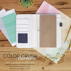 New Color Crush Travelers Notebooks from Websters Pages