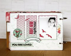 You Are Loved Chipboard Book by Larissa Albernaz