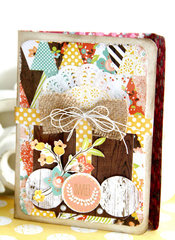 Designer Emeline Seet used Webster's Pages Family Traditions to make this STUNNING card