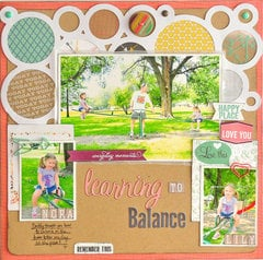 Learning to Balance by Designer Jill Cornell