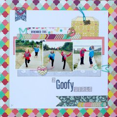 2 Goofy Girls by Designer Kay Rogers Page 1