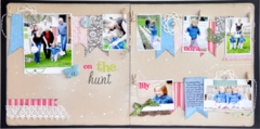 On the Hunt by Jill Cornell featuring Everyday Poetry from Websters Pages