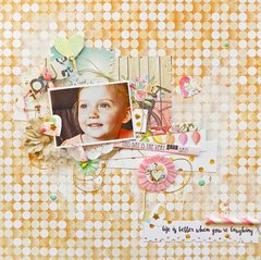 Life is Better When You are Laughing by WP DT Member Erin Blegen featuring the New Make A Wish Collection