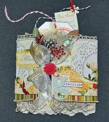 Botanical Christmas Tag Book