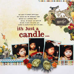 Just A candle