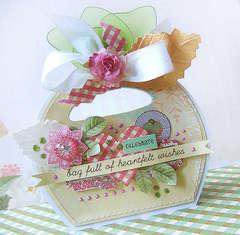 Bag full of heartfelt wishes - card