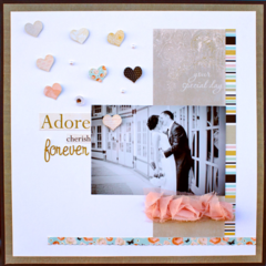 Adore Cherish Forever featuring In Love from Websters Pages