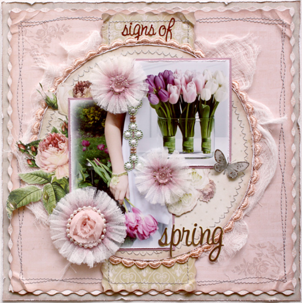 Signs of Spring by Gabrielle Pollacco featuring In Love from Websters Pages