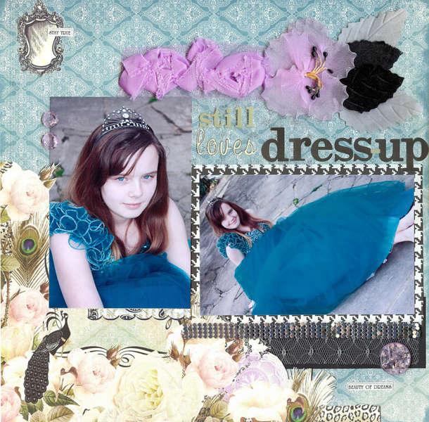 New * Webster's Pages* Still loves dress-up