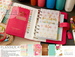 Beautiful New Color Crush Planners and Folios from Websters Pages