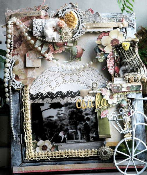 "Altered frame ""Osaka"" by DT Jaz Lee"