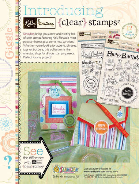 Sandylion Kelly Panacci Clear Stamps
