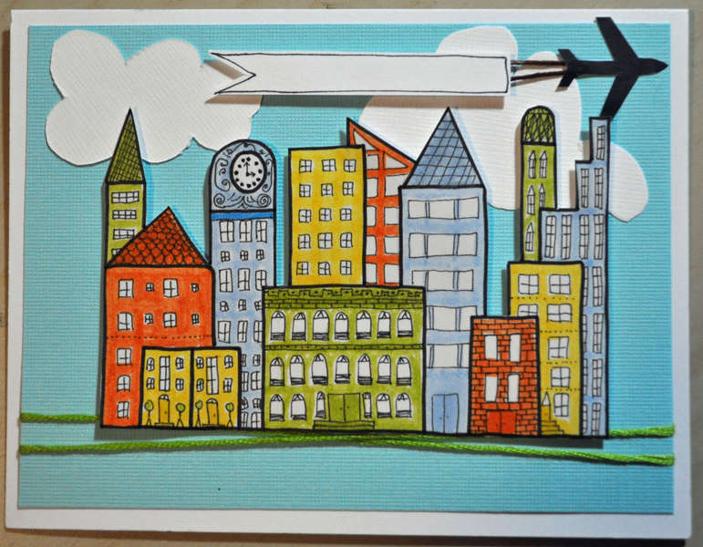 Cityscape card