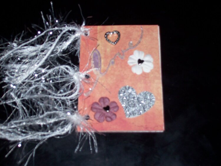 Valentine's Atc book