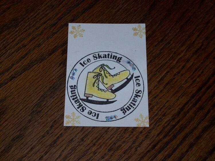 Ice Skating Atc