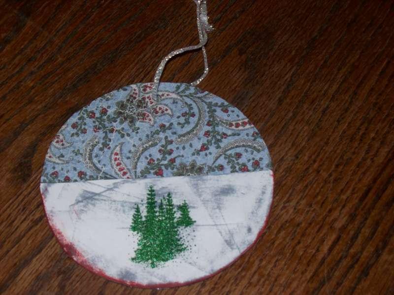 A Christmas Cd gift card holder