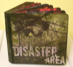 Disaster Area Board Book (cover)