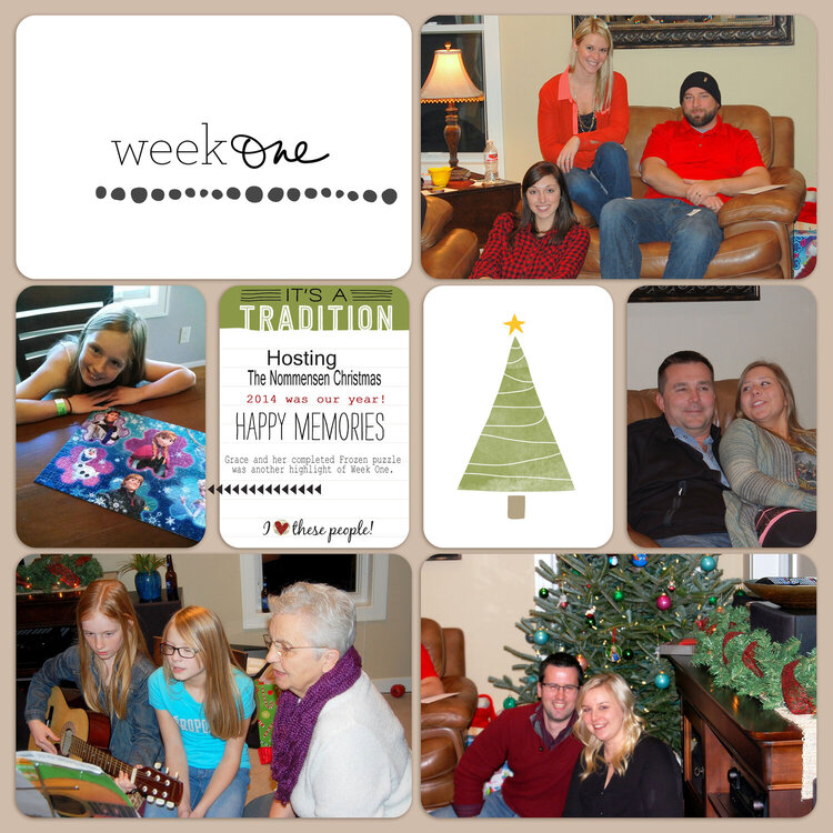 Project Life 2015 | Week 1