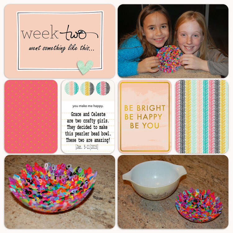 Project Life 2015 | Week 2