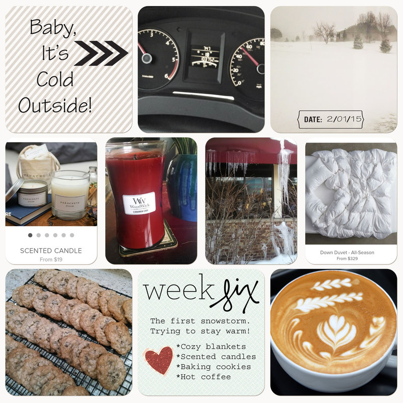 Project Life 2015 | Week Six