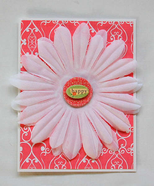 Happy Blank Notecard