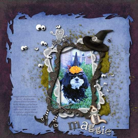 Maggie's Halloween 2009