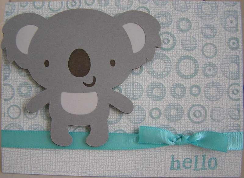 Koala Hello Card