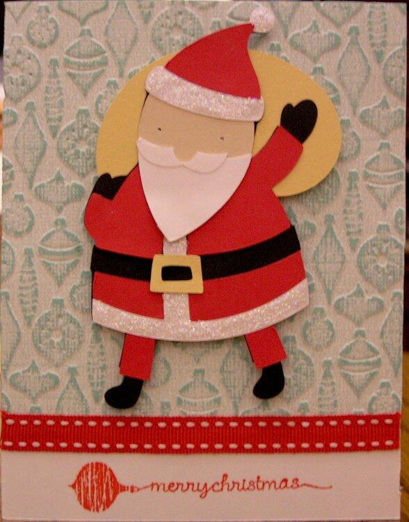 Santa Card for Sister