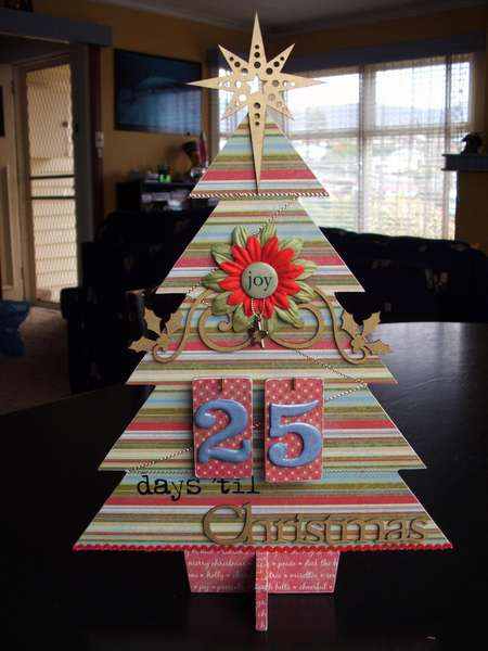 Days 'til Christmas Tree