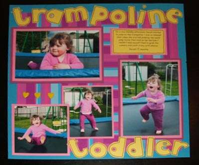 Trampoline Toddler