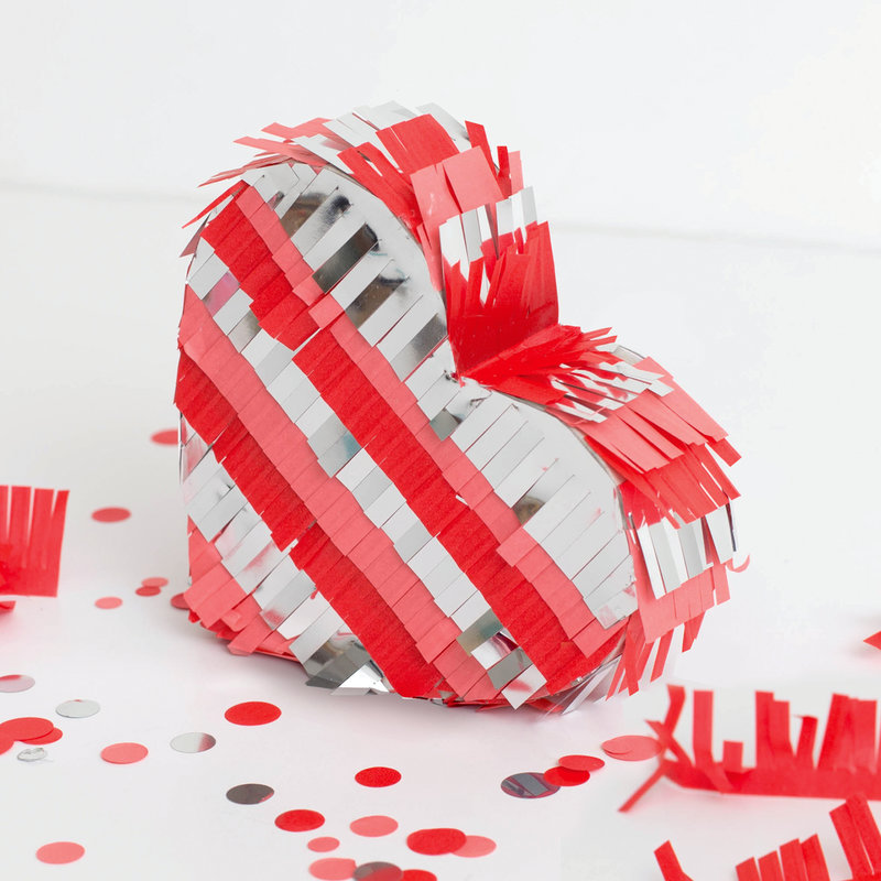 DIY Party Mini Heart Pinata from We R Memory Keepers